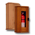 Wooden Fire Extinguisher Cabinets