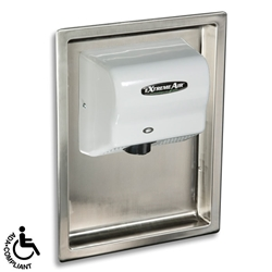 American Dryer ADA-RK Recess Kit Recess Kit, meets ADA requirements, reduces the protrusion of the dryer