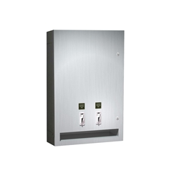 Surface Mounted Sanitary Napkin/Tampon Dispenser