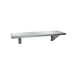"ASI 0692-512 5"" x 12"" Stainless Shelf"