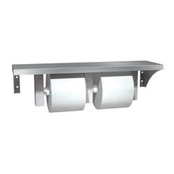 Stainless Steel Shelf and Dispenser