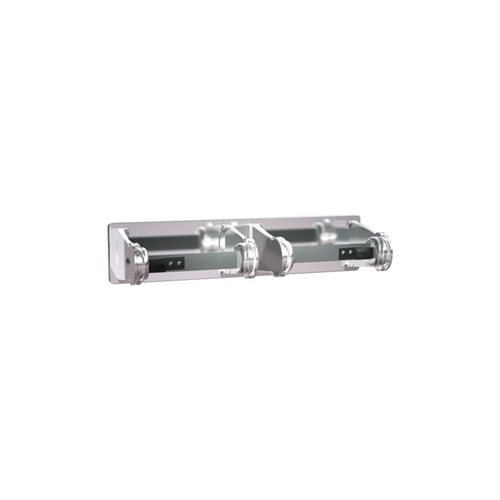 Asi 0715 Toilet Paper Holder Double Chrome Plated Surface Mounted Asi 0715