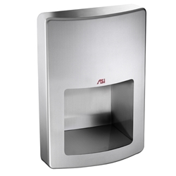ASI 20199 Roval™ Recessed High Speed Hand Dryer Recessed High Speed Hand Dryer , ASI hand dryers, automatic hand dryer. ***  Free Ground Shipping  ***