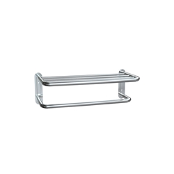 Towel Shelf with Towel Bar