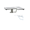 Slow Close Folding Shower Seat - Left
