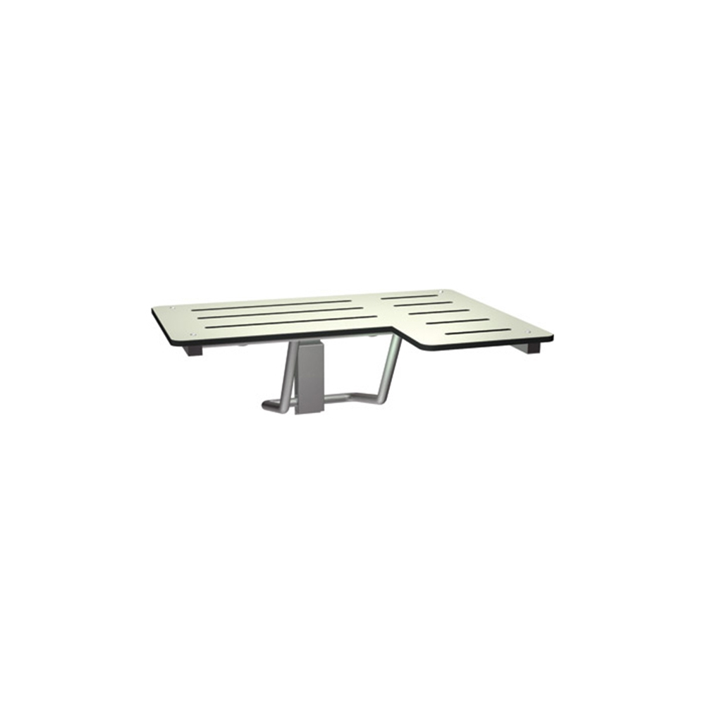 ASI 8206-L Folding Shower Seat - Left Seat #ASI-8206