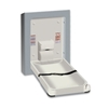 ASI 9017-9 Surface Mounted Vertical Stainless Steel Baby Changing Station