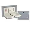 ASI 9018 Recessed Horizontal Stainless Steel Baby Changing Station