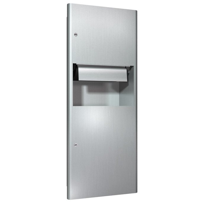 ASI 94696AC Automatic Roll Paper Towel Dispenser And Waste ...