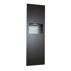 Piatto™  Paper Towel Dispenser and Waste Receptacle