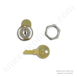 ASI Lock, Key and Nut