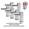 ASI 10-0390-6-1-AC EZ-Fill™ Soap Dispensing System Top Fill, 6 Pack Dispenser Head A/C Version