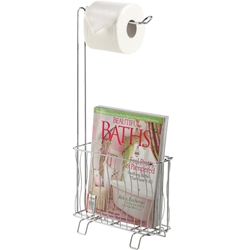 Better Living 53545 Wave Toilet Tissue Dispenser Caddy bath shower caddy,toilet tissue dispenser, toilet paper caddy, toilet tissue caddy, tissue roll holder