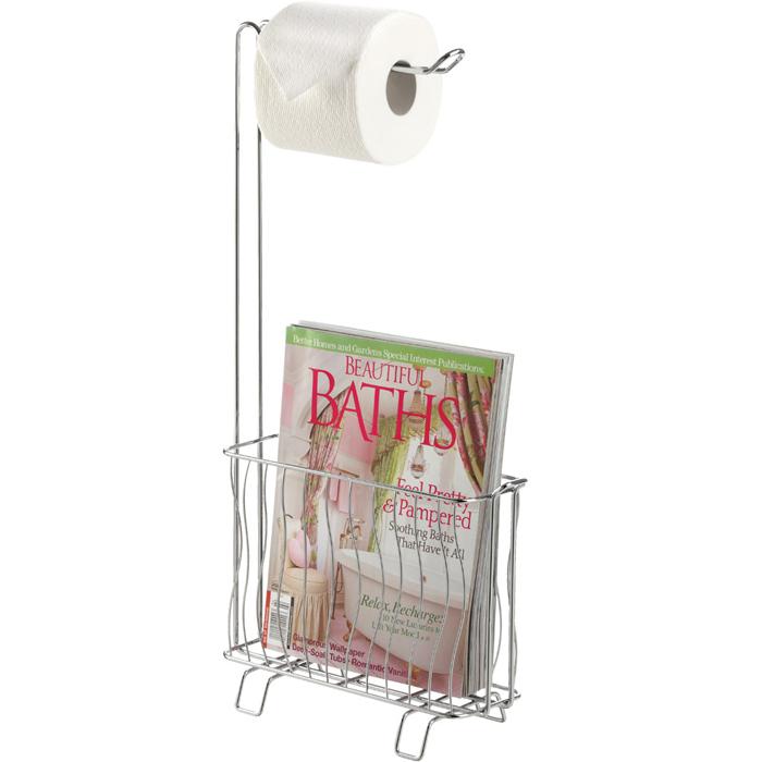 Better Living 53545 Wave Toilet Tissue Dispenser Caddy Bl