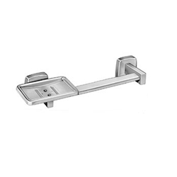 Horizontal Towel Bar with Soap Dish