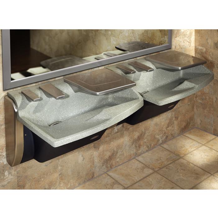 Bradley Av60 Advocate Soap Sink And Dryer All In One Br Av60