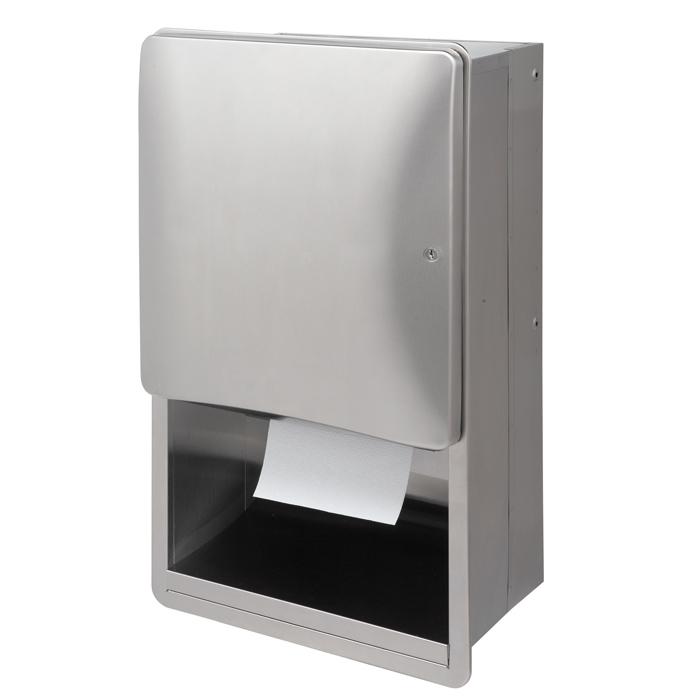 bradley bathroom accessories. Bradley 2A09 Towel Dispenser Cabinet Bathroom Accessories