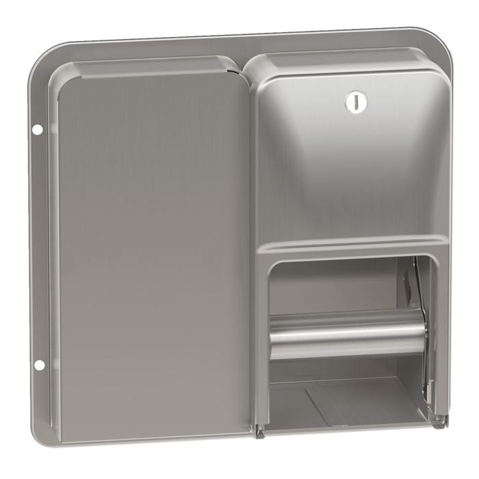 Bradley Diplomat 5a20 Toilet Tissue Dispenser Partition