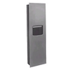 "Paper Towel Dispenser with Waste Receptacle Model 2038, 2038-10, 2038-11- (17 3/8"" x 56 1/4"") - Color Laminate"