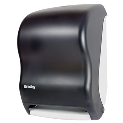 Bradley Automatic Roll-Towel Dispenser 2496 bradley 2496, bradley automatic paper towel dispenser