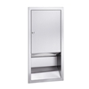 "Bradley 244-(14"" x 28"") multi-fold or C-fold paper towel dispenser"