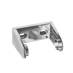 Surface Mounted- Single Roll - Chrome Plated Finish