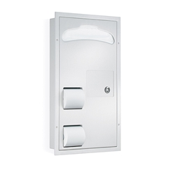 Combination Unit - Model 5911 - Partition Mounted