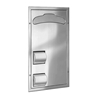 Combination Unit - Model 5921 - Partition Mounted