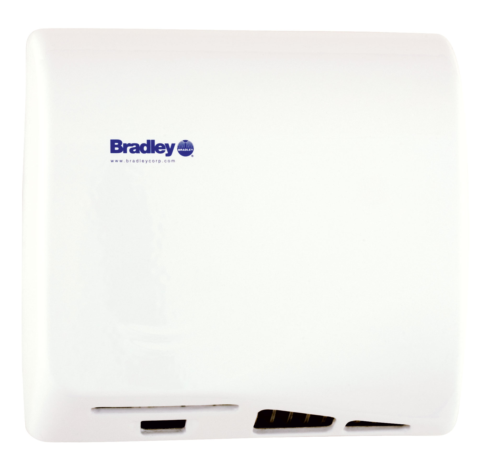 bradley aerix variable speed warm air hand dryer 2902 280000 white br - Air Hand Dryers