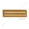 "Brass Accents 3.625"" x 13"" Mail Slot - Polished Brass"