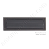 "Brass Accents 3.625"" x 13"" Mail Slot - Oil Rubbed Bronze"