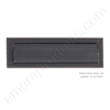 "Brass Accents 3.625"" x 13"" Mail Slot -  Venetian Oil Rubbed Bronze"