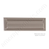 "Brass Accents 3.625"" x 13"" Mail Slot -  Satin Nickel"