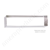 "Brass Accents Mail Slot Interior Sleeve Stainless Steel for the 3.65"" x 13"" Mail Slots"