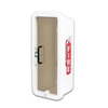 CATO 105-10 WWT-Z Pull to Open Chief 10 lbs. Plastic Fire Extinguisher Cabinet - White