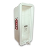 CATO Chief Plastic Fire Extinguisher Cabinet - White