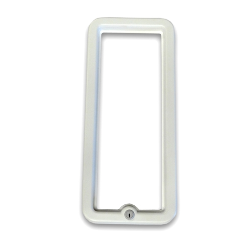 CATO White Frame w/ Lock for the Chief Fire Extinguisher Cabinet #CA-1