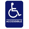 California Approved ADA Handicap Accessible Restroom Sign