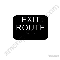 California Exit Route - Black
