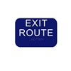 California Approved ADA Exit Route Sign