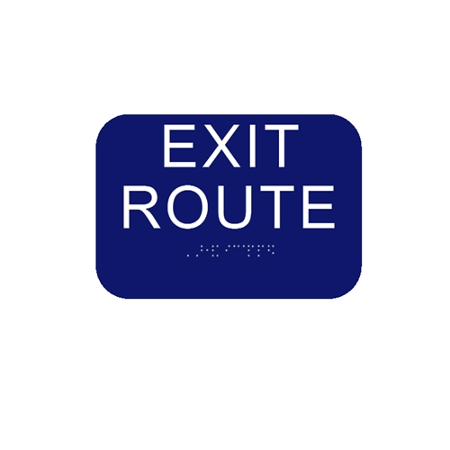 California Exit Route - Blue