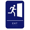 California Approved ADA Exit Sign