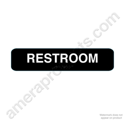 California Restroom - Black