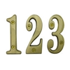 "4"" Solid Brass Numbers"