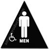 Mens Handicap Title 24 Restroom Sign