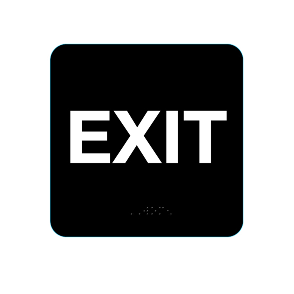 Exit Sign Black 5311 Ep 5311