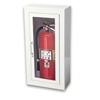 JL Ambassador 1013G10 Surface Mounted 10 lbs. Fire Extinguisher Cabinet with Lock