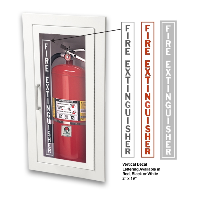 New Activar Fire Extinguisher Cabinet