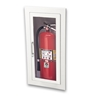 JL Ambassador 1015G10 Recessed 10 lbs. Fire Extinguisher Cabinet with Lock