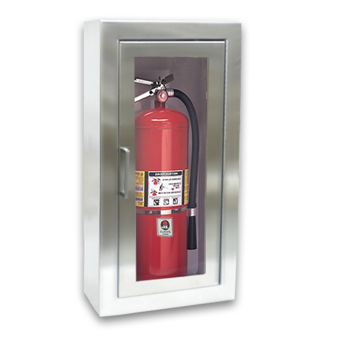 fire extinguisher cabinet jl cosmopolitan stainless steel 1033f10 surface mounted 10 15431